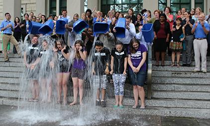 Students Challenge Alumni to Support ALS Research