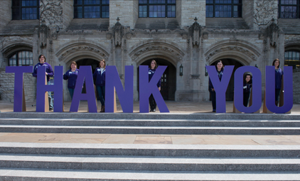 Northwestern Celebrates Thank A Donor Week