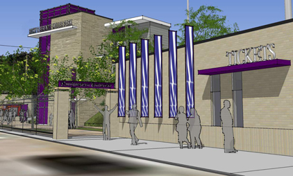 Northwestern Unveils Details of New Rocky and Berenice Miller Park