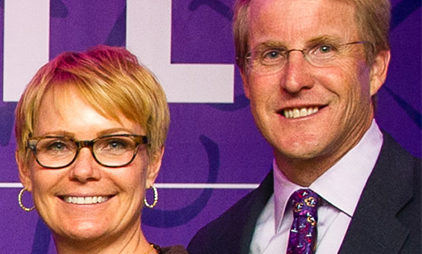 Featured Volunteers: Philip Lane '87, '92 MBA and Anita Lane '87