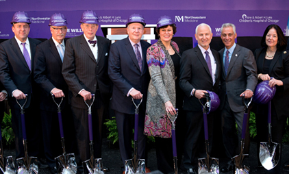 Hundreds Attend Biomedical Research Center Groundbreaking