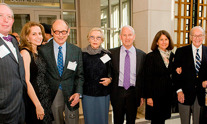 The Bernard Osher Foundation Celebrated at Champagne Reception at Feinberg