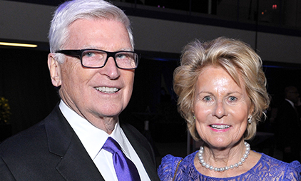 Music and communication building to be named for Patrick and Shirley Ryan